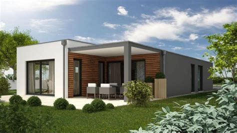 modern aerated concrete block single story house plans
