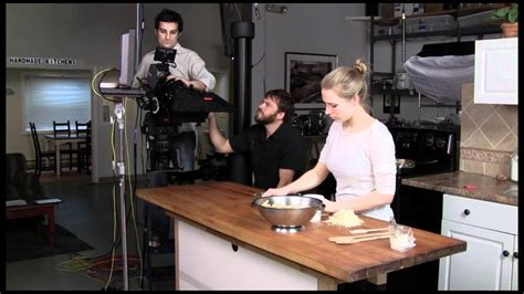 lighting  tv kitchen studio  making recipe