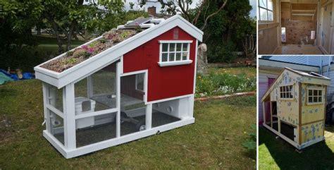 Diy Backyard Chicken Coop by 10 Backyard Diy Chicken Coop Plans And Tutorials