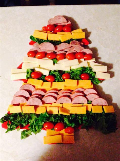 edible christmas tree platter diy ideas beesdiycom