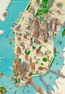 Plan De Manhattan : cartes et plans d taill s de new york ~ Melissatoandfro.com Idées de Décoration