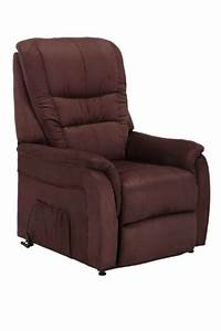 Elektrischer Sessel Mit Aufstehhilfe : fernsehsessel relaxsessel sessel mit aufstehhilfe microfaser braun bxtxh ~ Frokenaadalensverden.com Haus und Dekorationen