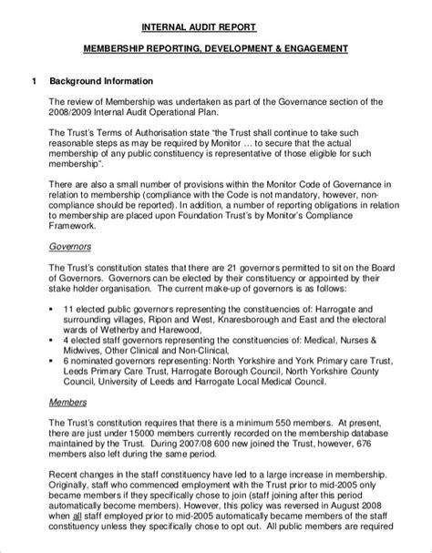 audit report 19 audit report templates pdf doc free premium templates