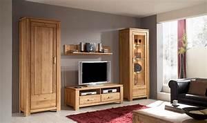 Etagere Murale Tv : etagere murale en bois massif faro pour living room contemporain ~ Teatrodelosmanantiales.com Idées de Décoration