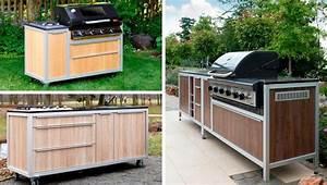 Küchenwagen Selber Bauen : outdoork che immobil mobil und modular garten pflanzen ~ Buech-reservation.com Haus und Dekorationen