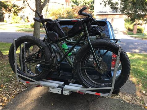 receiver hitch rack   fat bikes mtbrcom