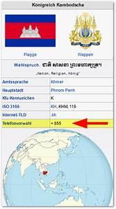 Vorwahl 16 : welches land hat die vorwahl 00855 bzw 855 techfrage ~ Orissabook.com Haus und Dekorationen