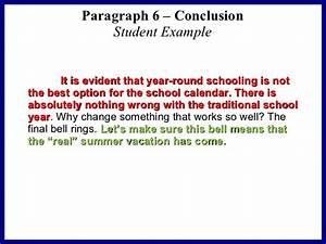 argumentative conclusion