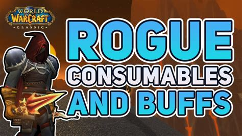 wow classic dps consumables buffs rogue parses