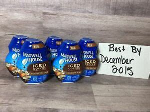 We don't know when or if this item will be back in stock. 5 Maxwell House Iced Coffee Concentrate 6 HOUSE BLEND Rare ...