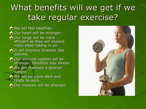 Benefits Of Eating Healthy And Exercise