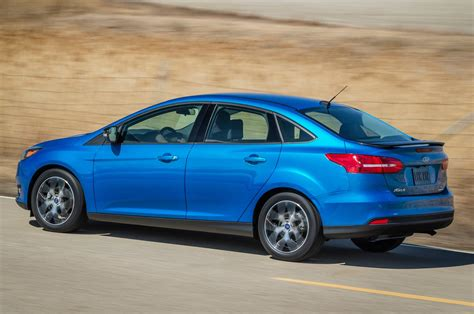 Refreshed 2015 Ford Focus Sedan Shown At New York Motor