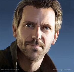 Hugh Laurie by KostanRyuk on DeviantArt