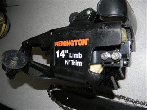 "Remington Electric Pole Saw Chainsaw 14"" Bar   Replacement"