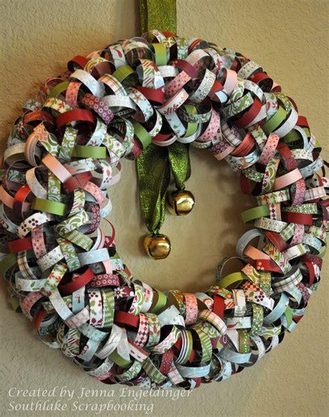southlake scrapbooking christmas wreath