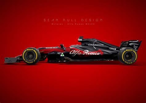 Porsche F1 2020 by A Mclaren Alfa Romeo Which Looks Quite The Part