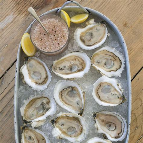 mignonette cuisine oysters on the half shell with rosé mignonette recipe