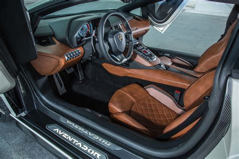 lamborghini aventador  interior  motor trend