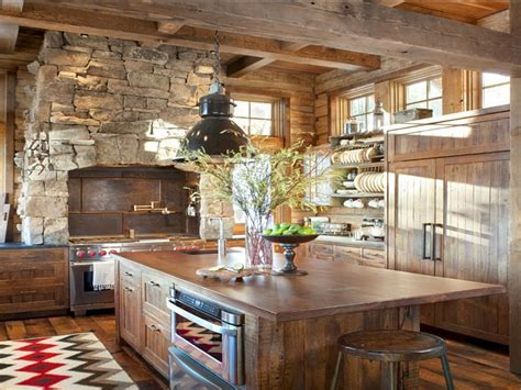24 Farmhouse Rustic Small Kitchen Design And Decor Ideas
