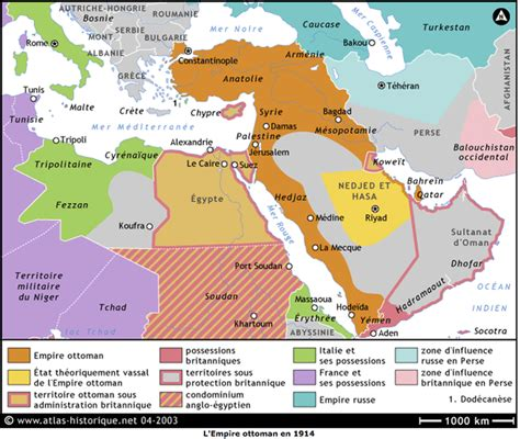Empire Ottoman En 1914 syrie de l empire ottoman 224 la 1 232 re guerre isra 232 lo arabe