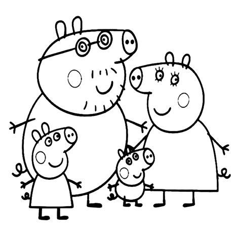 Kleurplaat Peppa Pig Verjaardag by Peppa Het Biggetje Kleurplaten Kleurplatenpagina Nl