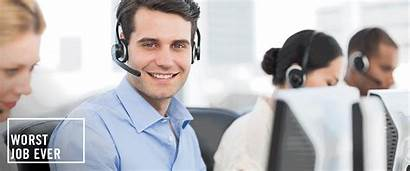 Call Center Job Phone Working Had Cell