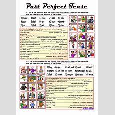Past Perfect Tense * Upperelementary * Fully Editable * With Key Worksheet  Free Esl Printable