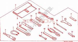 Tool For Honda Vtr 1000 Sp1 Rc51 2000   Honda Motorcycles