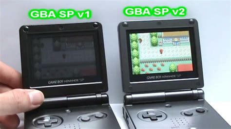 Gba Sp V1 And Gba Sp V2 Video