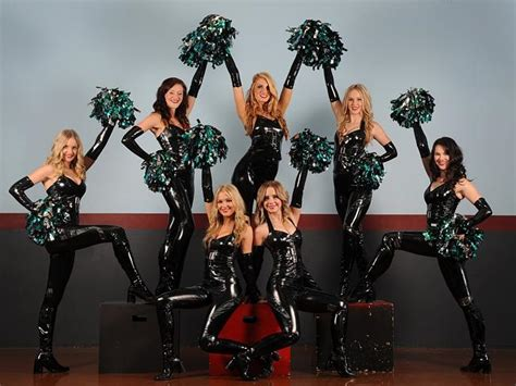 new look panthers cheer squad turn up the heat in the nrl