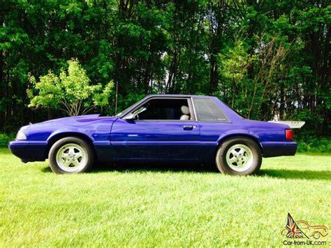 Ford Mustang Notchback Foxbody Drag Race Car Street Strip