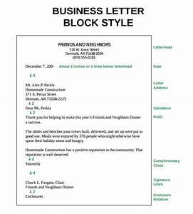 Sample Proper Letter Formats  8+ Download Free Doents In PDF, WORD