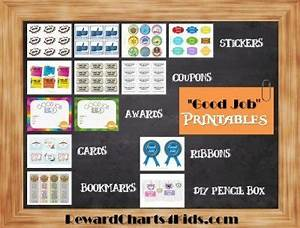 Family Chore Chart Free Good Job Sticker Printables Print On Paper And