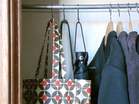 Closet Hooks For Purses by 14 Ways To Organize With S Hooks