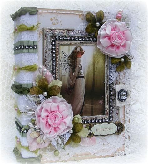 shabby chic fairytale vintage shabby chic fairy album my scrapbooking pinterest vintage shabby chic chic and