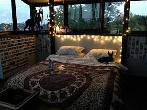 bed, bedroom, cool, cute, dream room, girl, hippie, indie ...