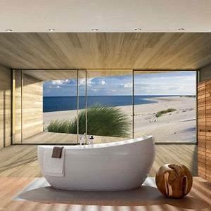 Wandbilder Für Badezimmer : die besten 25 fototapete strand ideen auf pinterest phototapete fototapete natur und strand ~ Markanthonyermac.com Haus und Dekorationen