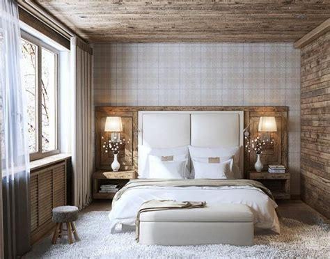 chambre blanche et bois aménager la chambre parentale avec nos 56 propositions