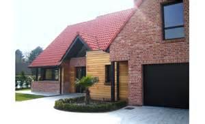 maison brique et bois contemporaine r 233 gionale 224 roncq pouwels ab