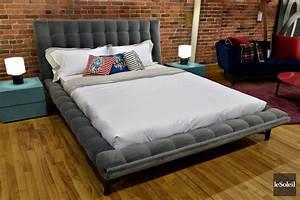 lit en tissu montreal With tapis chambre bébé avec canape montagne occasion