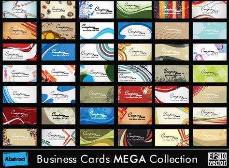Set Of Business Cards Design Elements Vector Free Vector Business Card Designs For Event Planners Original Holiday Cards Ideas Retirees Sleek Images Design Letterhead Template Lawyers