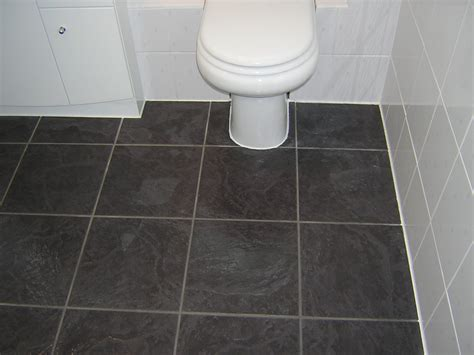 How To Tile Bathroom Floor Around Toilet  Image Bathroom 2017