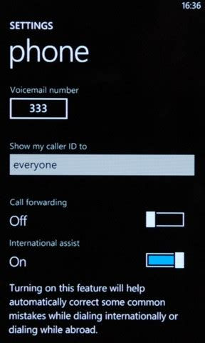 theunwired   forwarding conditional calls  windows phone   ussd codes