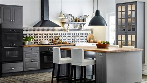 ikea gray kitchen cabinets stylish ikea kitchen cabinets for form and functionality 4434