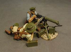 Who Were The Allied Powers Vickers Heavy Machine Gun Team Gallipoli Campaign Wwi Gla