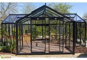 Serre Acier Verre : serre de jardin orangerie 22 59 m acd ~ Premium-room.com Idées de Décoration