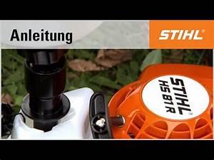 Benzin Heckenschere Stihl : eine stihl benzin heckenschere betanken youtube ~ Frokenaadalensverden.com Haus und Dekorationen