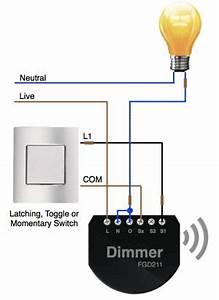 2 Way Lighting Circuit Diagram Apnt 1 Installing Fibaro Dimmer Modules Vesternet