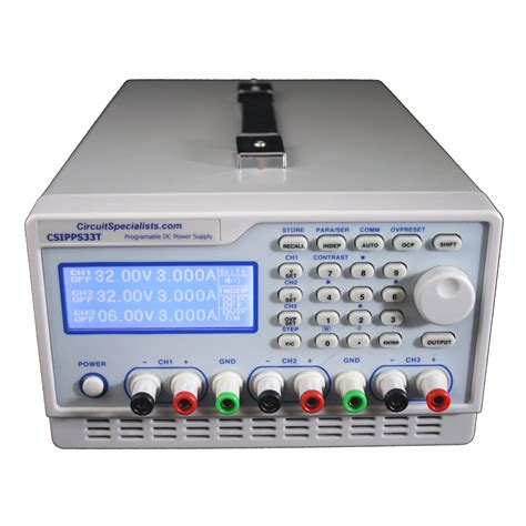 Channel Amp Programmable Bench Power Supply