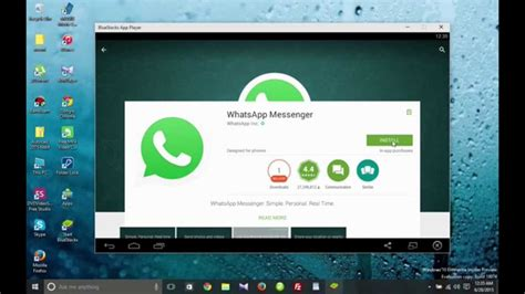 whatsapp for pc how to install whatsapp messenger